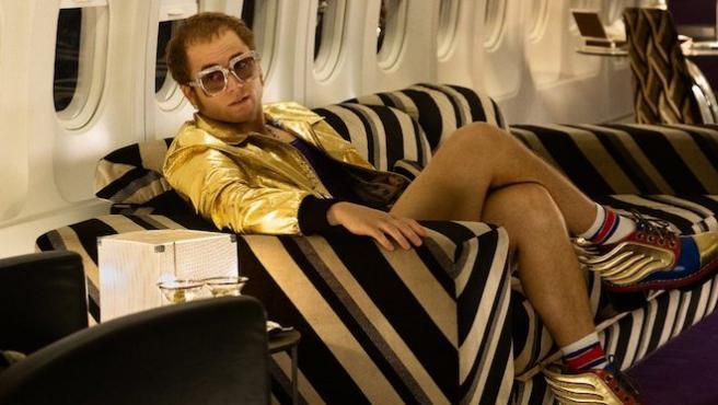 'Rocketman': Primera foto de Taron Egerton como Elton John