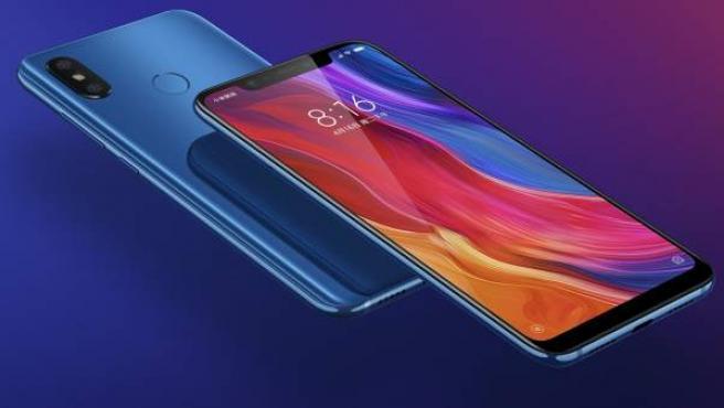 El dispositivo Xiaomi Mi8.