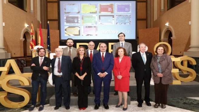 Presentación en Zaragoza de la plataforma 'Enclave RAE'