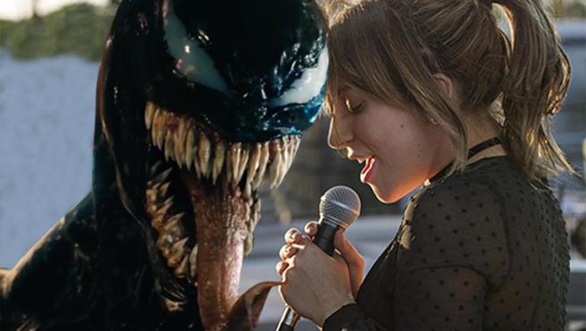 Acusan a los fans de Lady Gaga de propagar malas críticas de 'Venom'