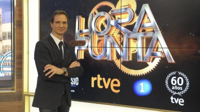 Javier Cárdenas, presentador de Hora Punta.