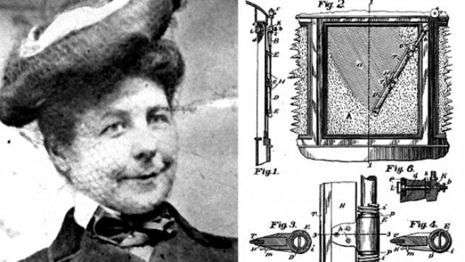 Mary Anderson, inventora del parabrisas.