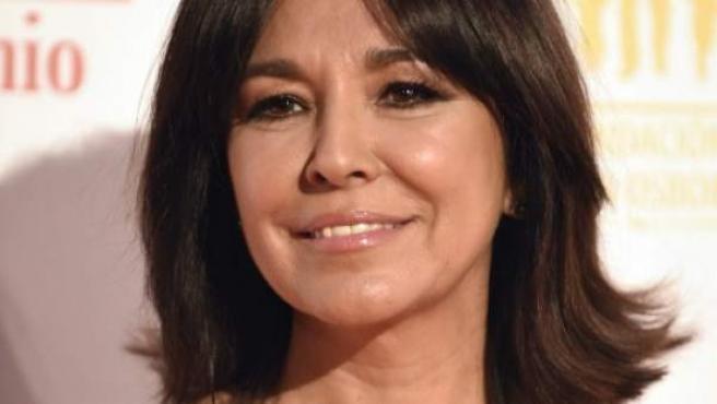 La periodista Isabel Gemio h acontado que alguna vez le ha tocado algún reintegro pero nunca un gran premio.