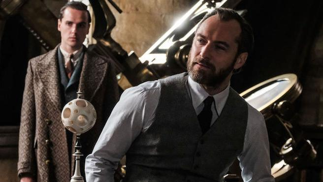 'Animales fantásticos 2' dejará claro que Dumbledore es gay, afirma el director