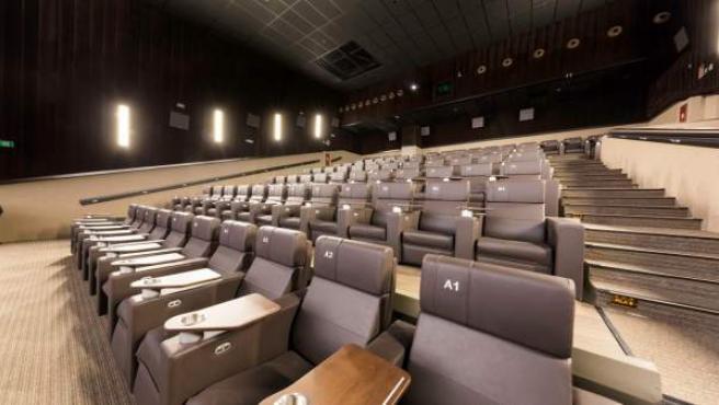 Sala premium de Yelmo en los cines de Vallsur