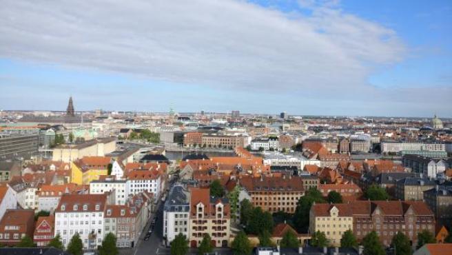 Vista general de la ciudad de Copenhague, en Dinamarca.