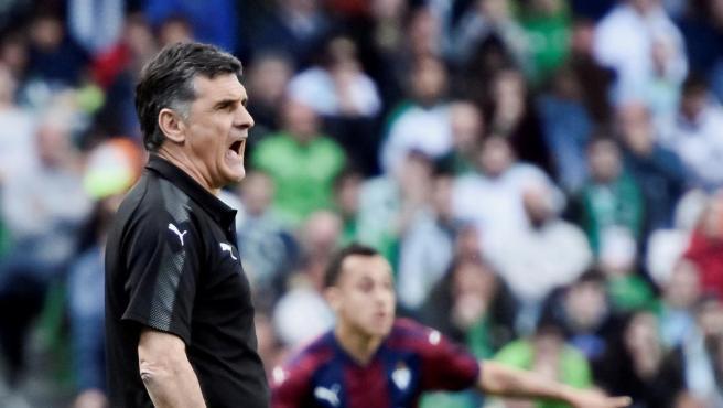 José Luis Mendilibar, técnico de la Sociedad Deportiva Eibar.