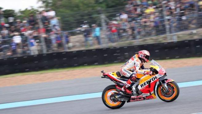 Marc Márquez, en el GP de Tailandia.