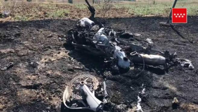 Muere un motorista tras chocar contra un vehículo en Quijorna (Madrid)