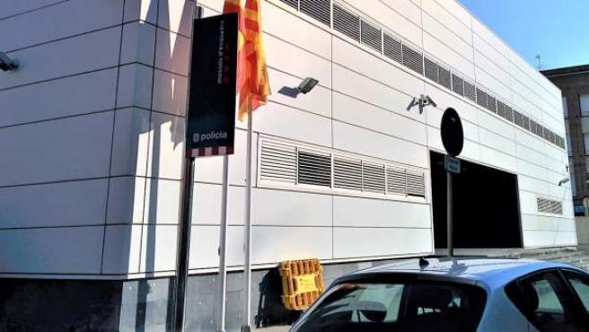 Comisaría de Mossos d'Esquadra en Cornellà de Llobregat (Barcelona).
