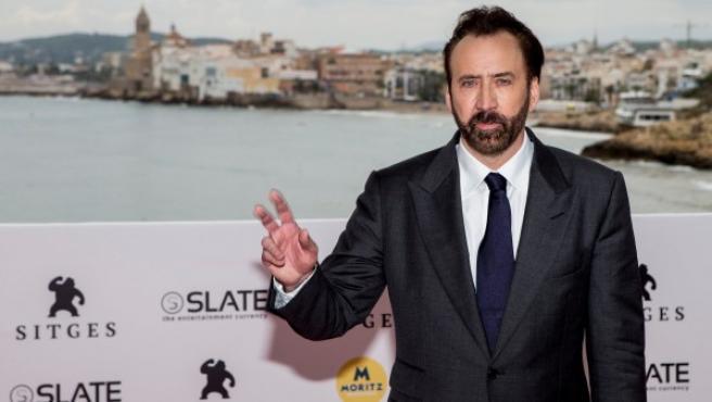El actor estadounidense Nicolas Cage.