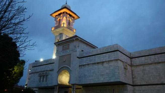 La Mezquita de la M-30 de Madrid en una imagen de archivo.