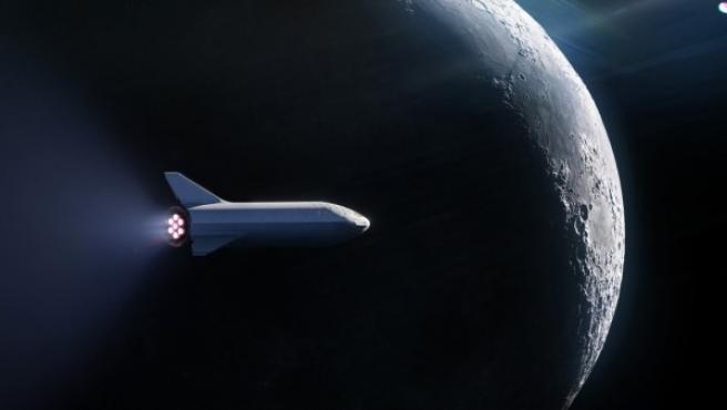 SpaceX llevará al espacio al primer turista que volará a la Luna.