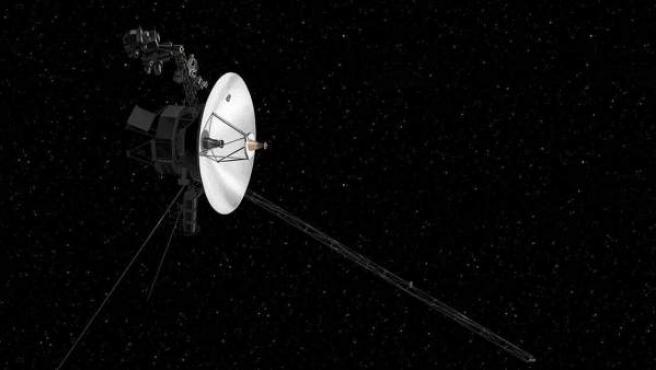Ilustración de la sonda 'Voyager 2'.