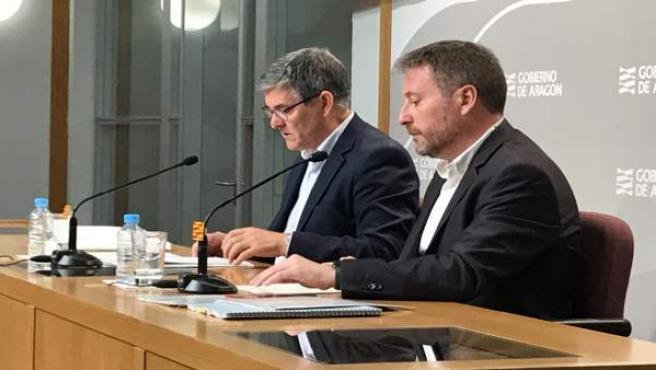 José Luis Soro y Vicente Guillén