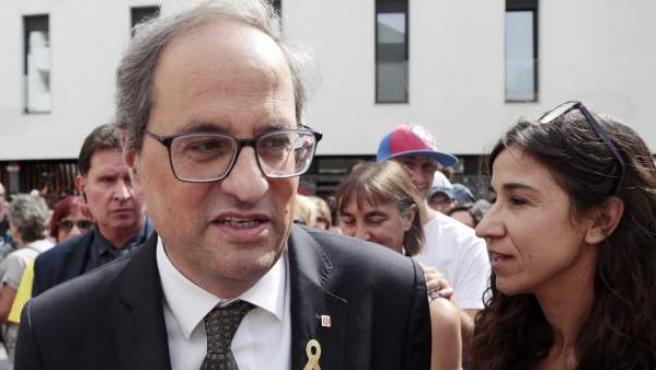 El presidente de la Generalitat Quim Torra.