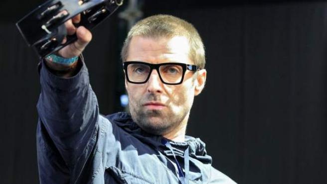 El cantante y compositor inglés Liam Gallagher, durante su actuación en el Festival DCODE.