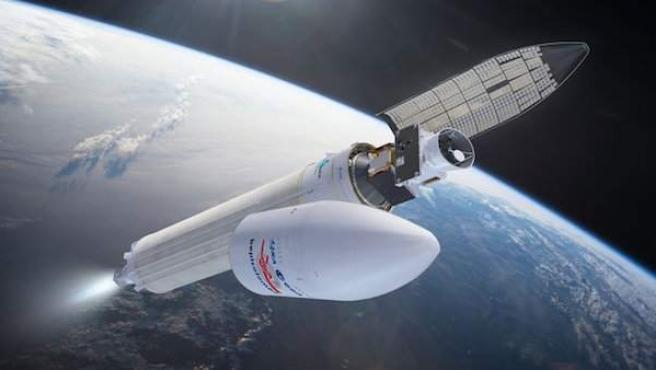 Ilustración de la sonda BepiColombo.