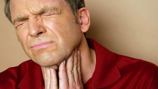 garganta irritada y amigdalas inflamadas