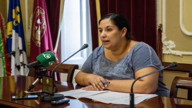 La edil de Asuntos Sociales, Ana Fernández
