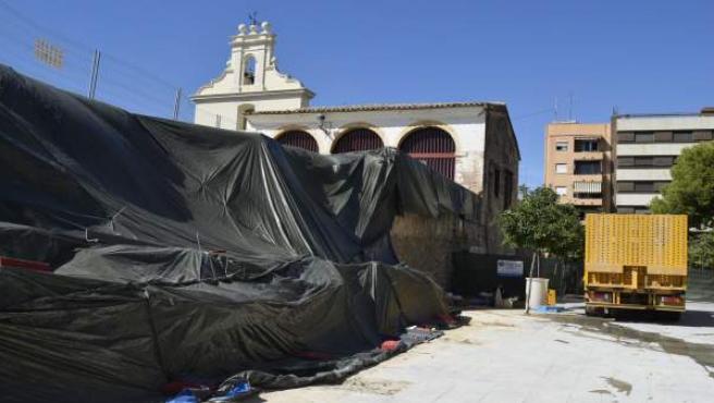 Actuacions en el pati de les Sitges
