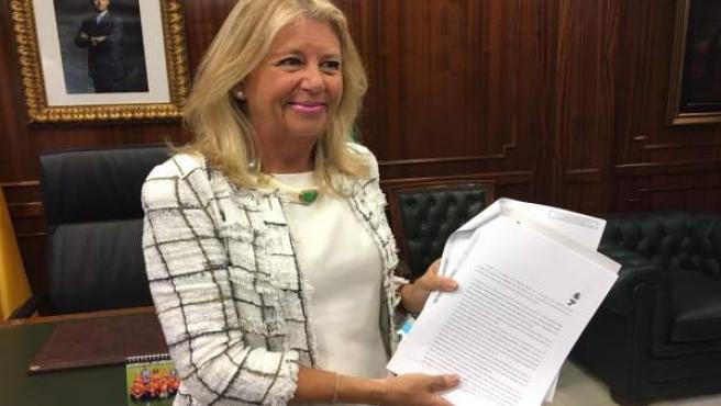 Alcaldesa de Marbella, Ángeles Muñoz