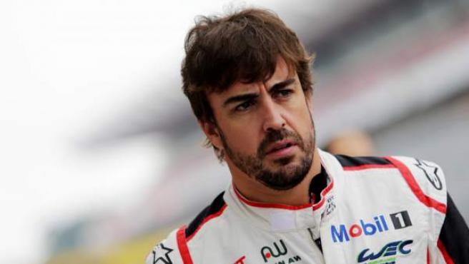 Fernando Alonso, en las seis horas de Fuji.
