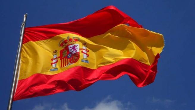 Imagen de archivo de la bandera de España.