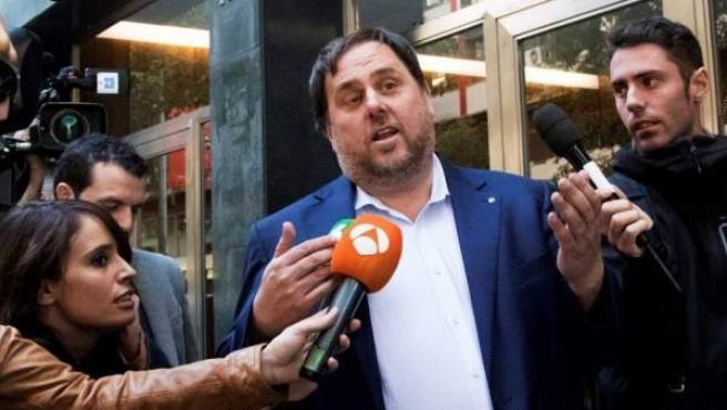 Oriol Junqueras, en una imagen previa a su encarcelamiento.