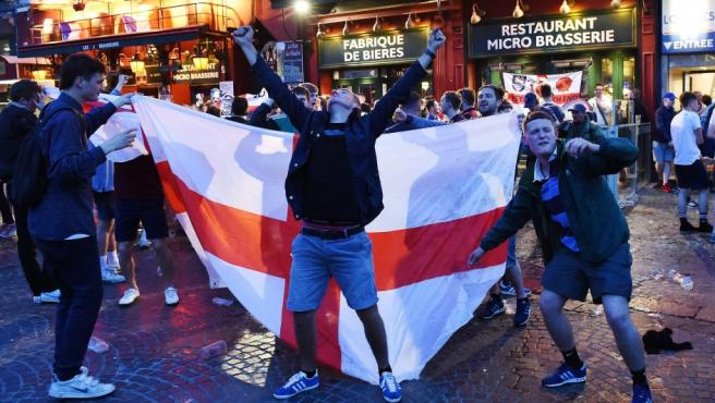Hooligans ingleses.