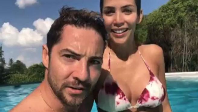 David Bisbal y Rosanna Zanetti.