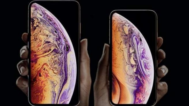 El iPhone Xs, que incluye la tecnología Face ID de reconocimiento facial.