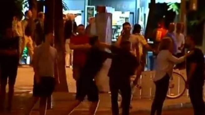 Los 'hooligans' ingleses han protagonizado varios altercados desde su llegada a Sevilla.