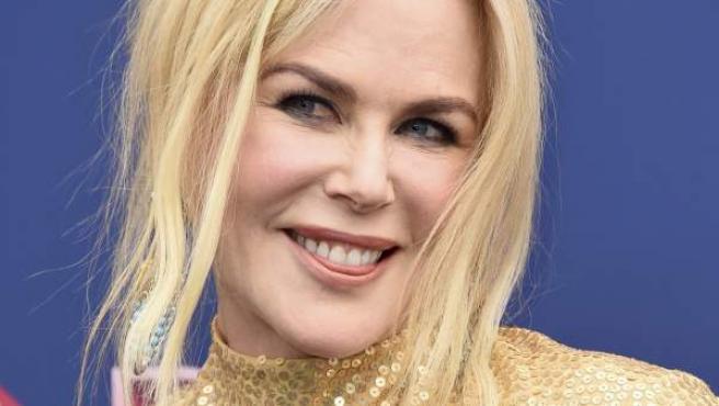 La actriz Nicole Kidman en la 53 edición de los premios Academy de la música country.