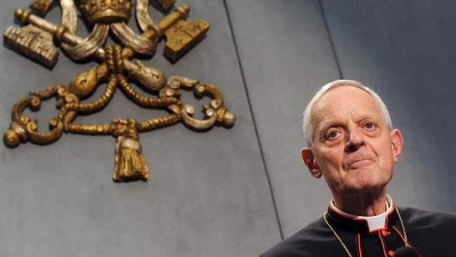 El arzobispo de Washington, el cardenal Donald Wuerl, cuya renuncia tras ser acusado de encubrir casos de abusos a menores fue aceptada por el papa Francisco, en una imagen de 2012.