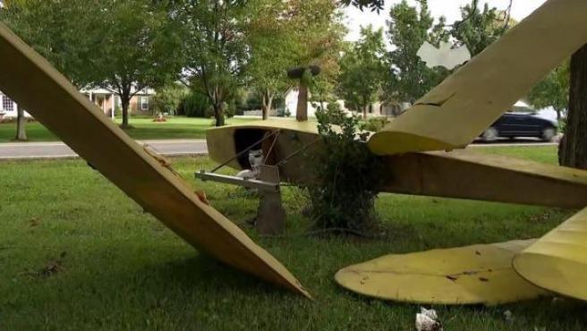 Falso accidente aéreo en la localidad de Ohio, EEUU.