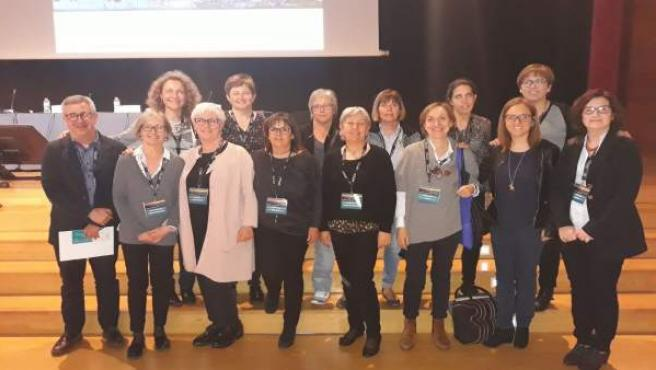 Grupo de investigadores del ensayo
