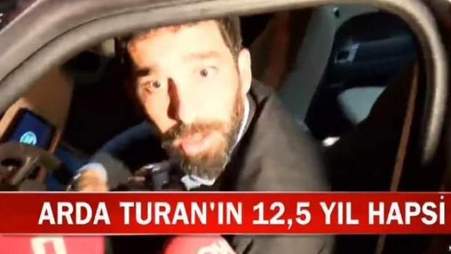 Arda Turan, jugador del FC Barcelona cedido en el Basaksehir.