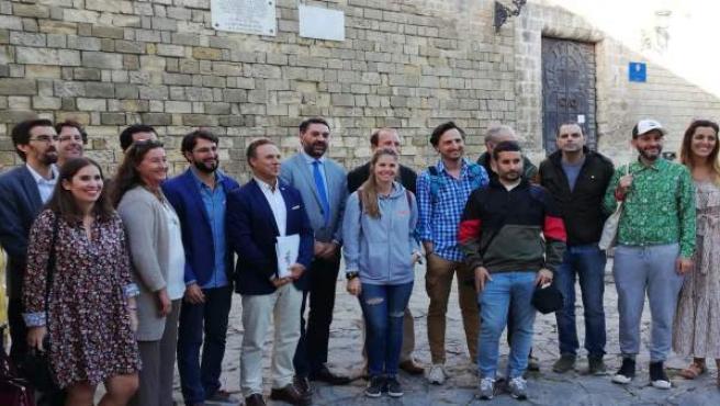 El consejero de Turismo, Fco Javier Fernández, en un encuentro con 'influecers'