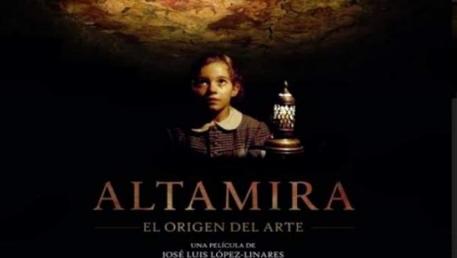 El cartel de la presentación de 'Altamira, el origen del arte' en el SEMINCI