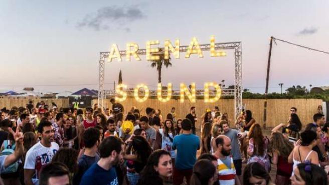Imagen de archivo del festival Arenal Sound.