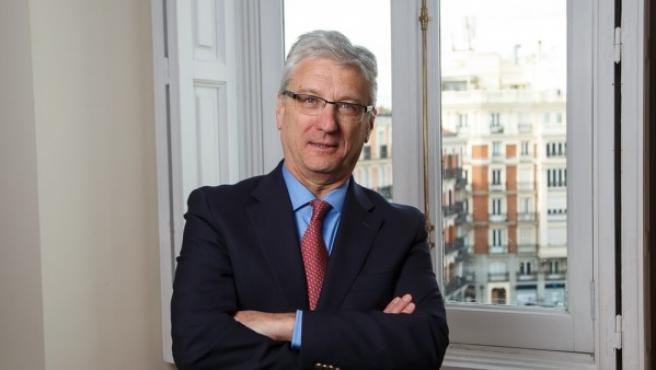 Luis María Díez-Picazo, presidente de la Sala Tercera del Tribunal Supremo, en una imagen de archivo.