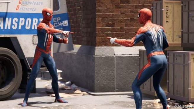 El meme más famoso del superhéroe arácnido: 'Spider-Man señalando a Spider-Man'.