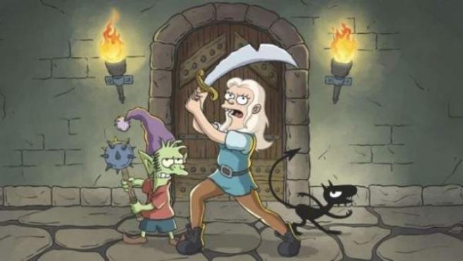 (Des)encanto, la serie de Netflix del creador de Los Simpson, Matt Groening.