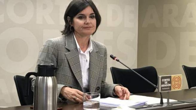La concejal del PAR, Elena Allué