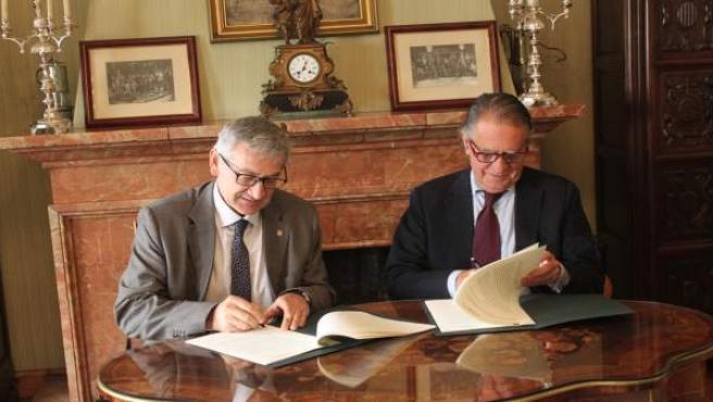 Firma entre Universidad de Oviedo y CTIC