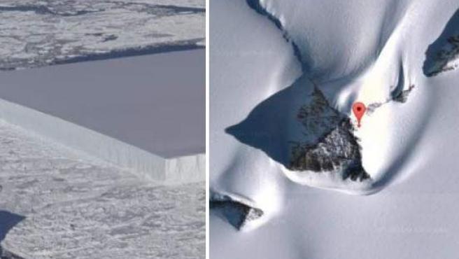Misterios en la Antártida.