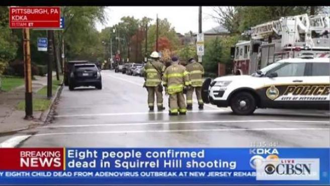 Varias personas fallecieron en un tiroteo en una sinagoga en Pittsburgh, Pennsylvania.