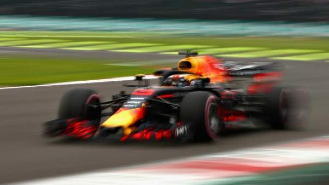 Daniel Ricciardo, durante el GP de México.
