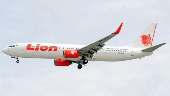 Un avión de la compañía indonesia Lion Air, en una imagen de archivo.